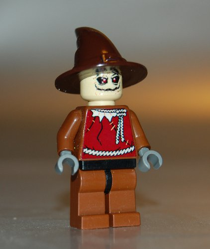 Custom LEGO Batman Scarecrow Minifig Dark Knight
