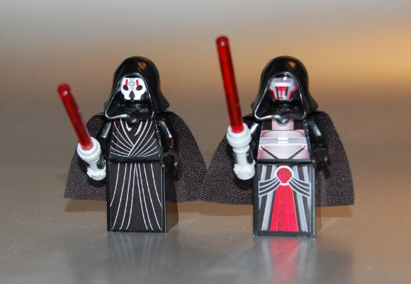 Custom LEGO Star Wars Sith Lords Darth Nihilus Revan ...